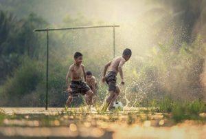 サッカー初年
